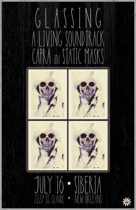 A Living Soundtrack | Static Masks | Glassing | Capra