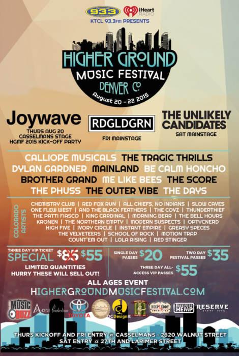 Higher Ground Music Fest