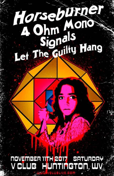 Horseburner / 4 Ohm Mono / Signals / Let The Guilty Hang
