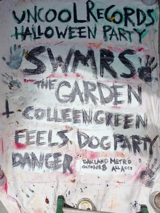Uncool Records Halloween Party: SWMRS, The Garden, Colleen Green, Eeels and Dog Party