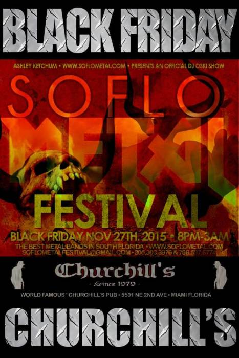 South Florida Metal Festival - Rite To Bare Arms, Loaded Guns, Kill The Tyrant, NZM, Born Beneath, Black Sun Prophets, 1000 lbs of Thrust, Wai2Gon, EUNOIA, Outlaw Tendencies, Rejected Revolution, Wicked Playground, The Truth Untold, Of The Wasteland