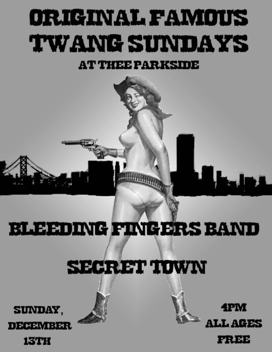 Bleeding Fingers Band, Secret Town