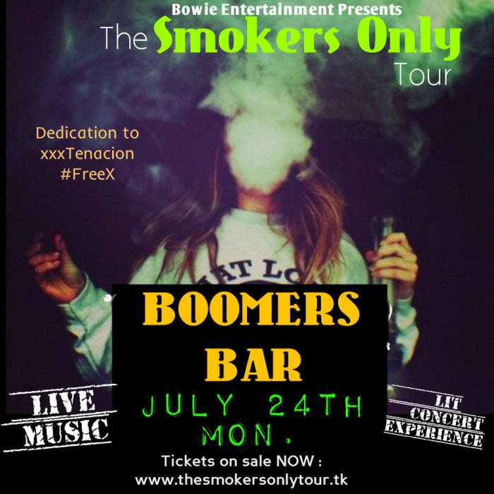 The Smokers Only Tour