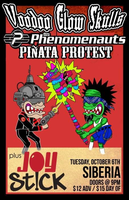 VOODOO GLOW SKULLS | The Phenomonauts | Pinata Protest | JOYSTICK!