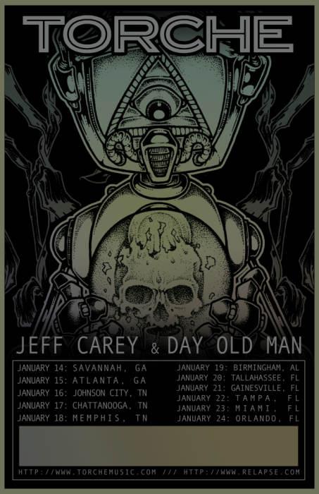 Torche w/ Jeff Carey & Day Old Man