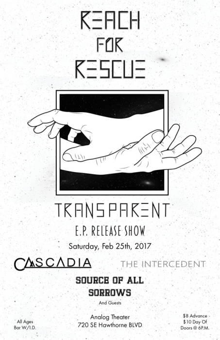 REACH FOR RESCUE EP RELEASE SHOW!