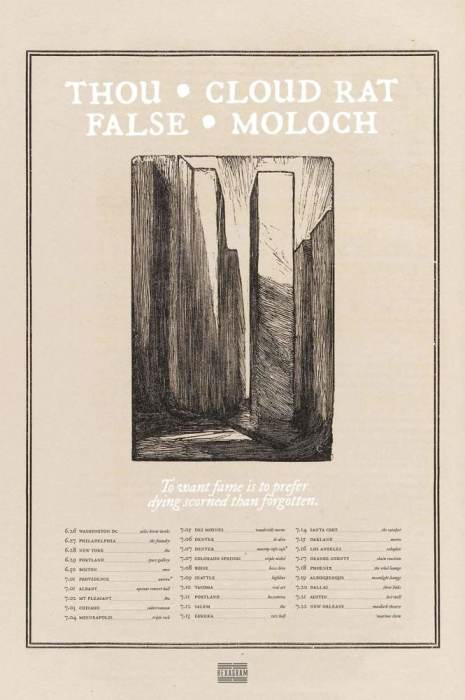 Thou // Cloud Rat // False // Moloch
