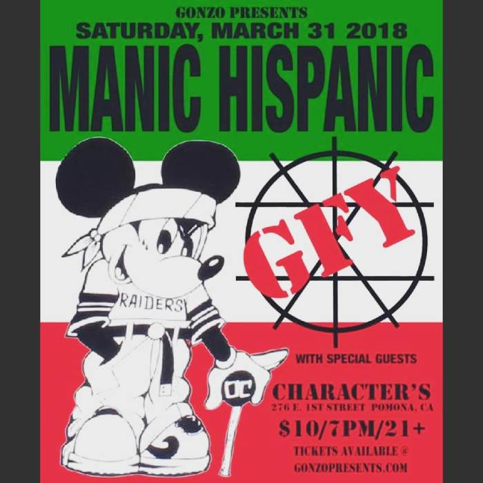 MANIC HISPANIC returns for a special celebration