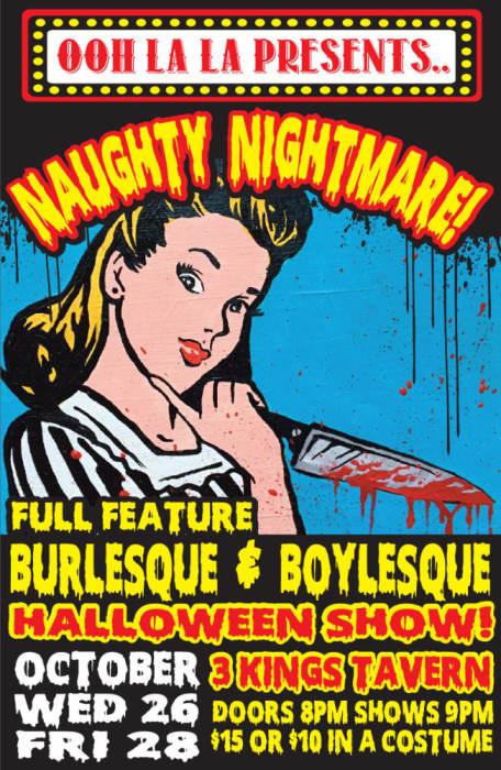 NAUGHTY NIGHTMARE
