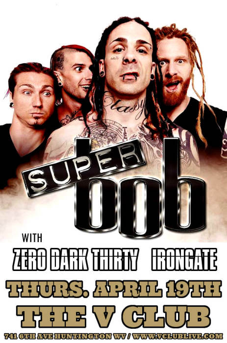 Super Bob / Zero Dark Thirty / Irongate / Suffer