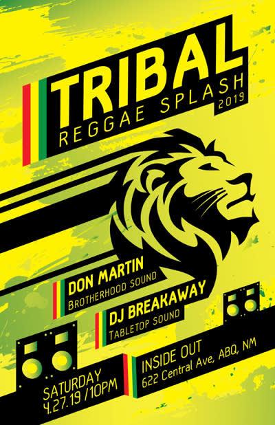 Tribal Reggae Splash 2019