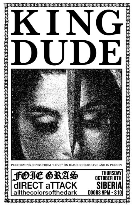 KING DUDE | Foie Gras | dIRECT ATTACK | allthecolorsofthedark