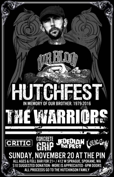 HUTCHFEST w/ The Warriors