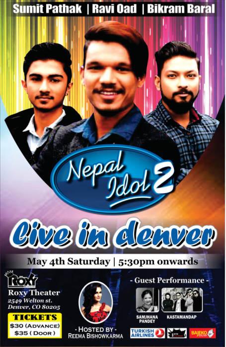 Nepal Idol US Tour