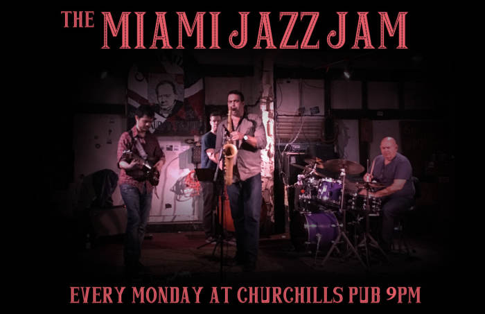 Miami Jazz Jam, Theatre de Underground Open Mic, and Noise Night in the Green Room