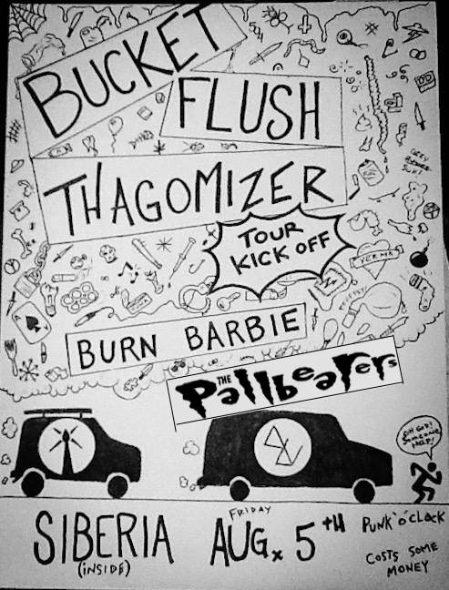 BUCKET FLUSH + THAGOMIZER (Tour Kickoff Show!!) | The Pallbearers | Burn Barbie