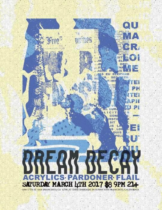 Dreamdecay, Acrylics, Pardoner, Flail