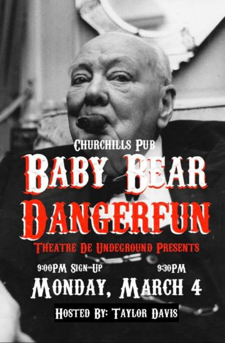 Miami Jazz Jam & Theatre de Underground Open Mic ft. Baby Bear Lo-Fi & The Dangerfun Sideshow!