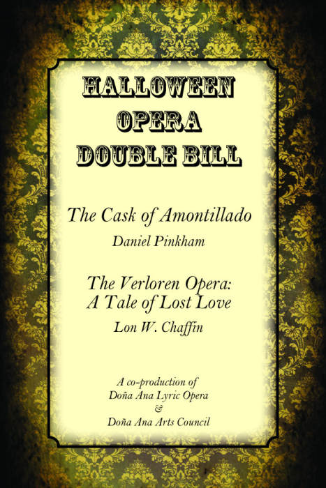 Every Other Tuesday - Halloween Opera Double Bill Preview