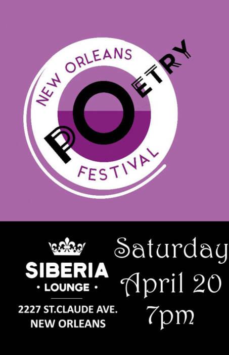 New Orleans Poetry Fest: Kalumu ya Salaam, Anne Waldman, Fast Speaking Music, Skin Verb, The Call Girls, more