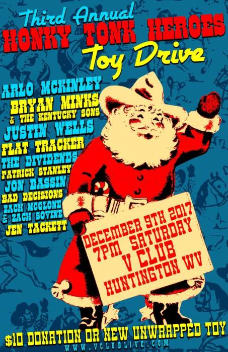 Honky Tonk Heroes Third Annual Toy Drive