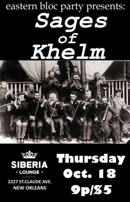 Eastern Bloc Party: Sages Of Khelm