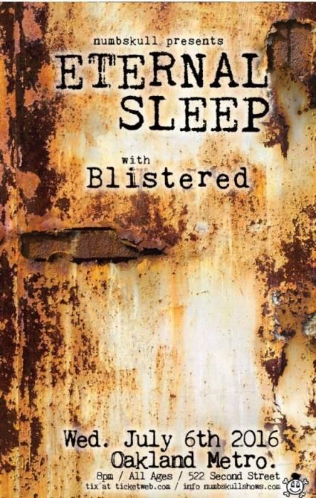 ETERNAL SLEEP, Blistered