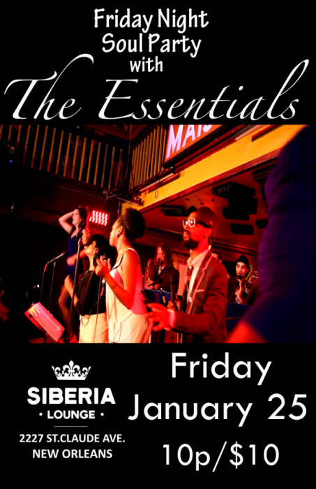 Soul Dance Party with: The Essentials