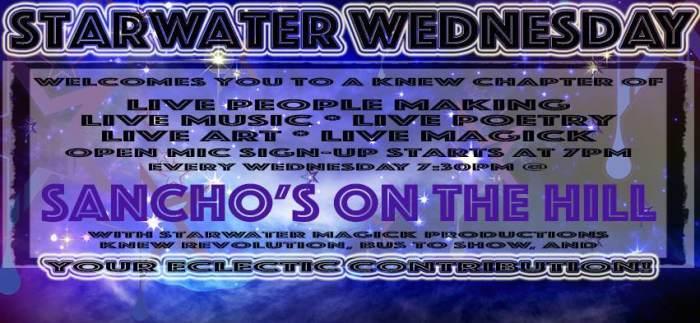 Starwater Wednesday--Chad Wilkins