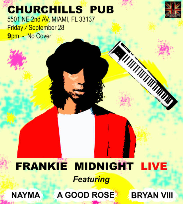 Frankie Midnight, Bryan Vill, Nayma, A Good Rosé, & Mercury Wolff. NO COVER