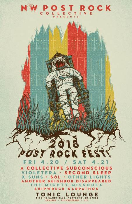 2018 NW Post Rock Fest! Weekend Pass