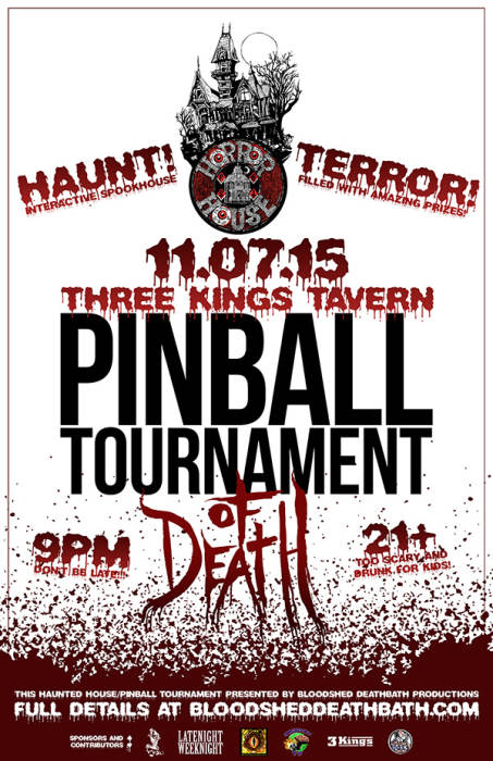 PINBALL TOURNAMENT OF DEATH!!