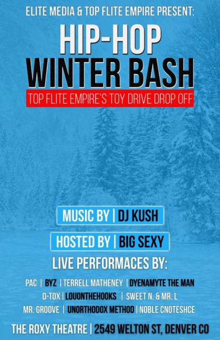 Hip Hop Winter Bash