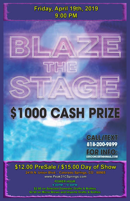 BLAZE THE STAGE II