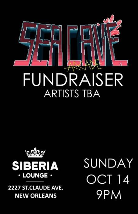 Sea Cave Arcade Fundraiser