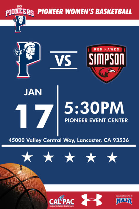 UNIVERSITY OF ANTELOPE VALLEY VS SIMPSON UNIVERSITY