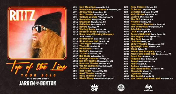Rittz Top of the Line Tour 2016 w/Jarren Benton