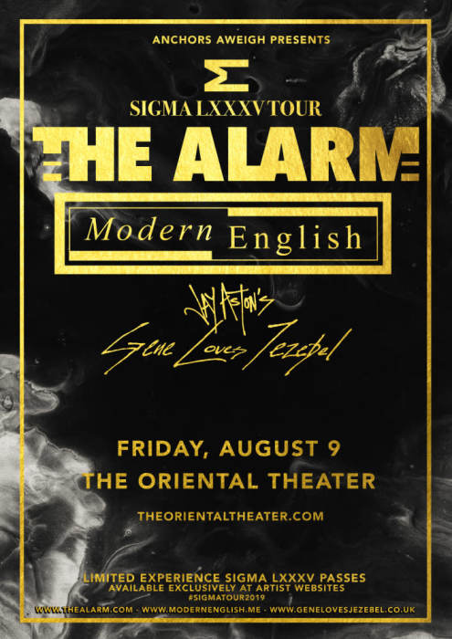 The Alarm & Modern English