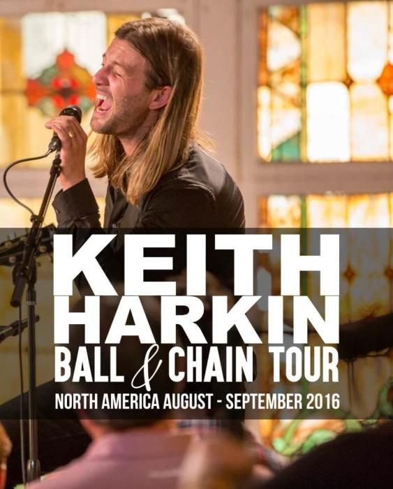 Keith Harkin Live