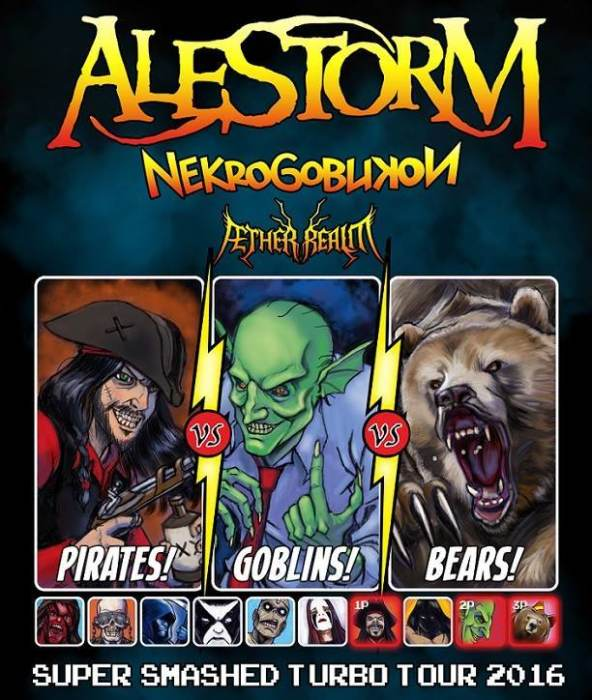 Alestorm, Nekrogoblikon, Aether Realm