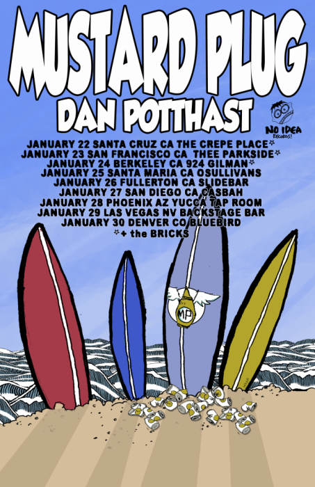 Mustard Plug w/ Special Guest Dan P & The Bricks, Monkey