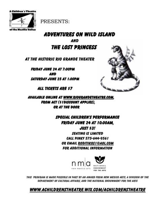Adventures on Wild Island & The Lost Princess