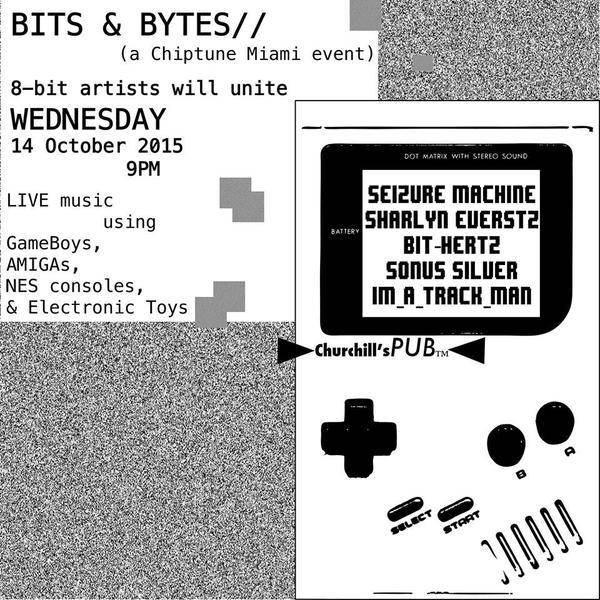 BITS & BYTES [PRE-MOONFEST 2015 EVENT] Sharlyn Evertsz, Bit-HertZ, Sonus Silver, Im_A_Track_Man & Seizure Machine