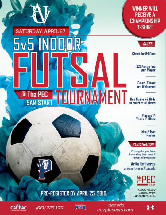 5V5 INDOOR FUTSAL TOURNAMENT