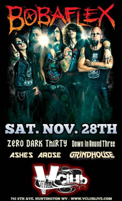 Bobaflex / Zero Dark Thirty / Down in Round Three / Ashes Arose / GrindHouse