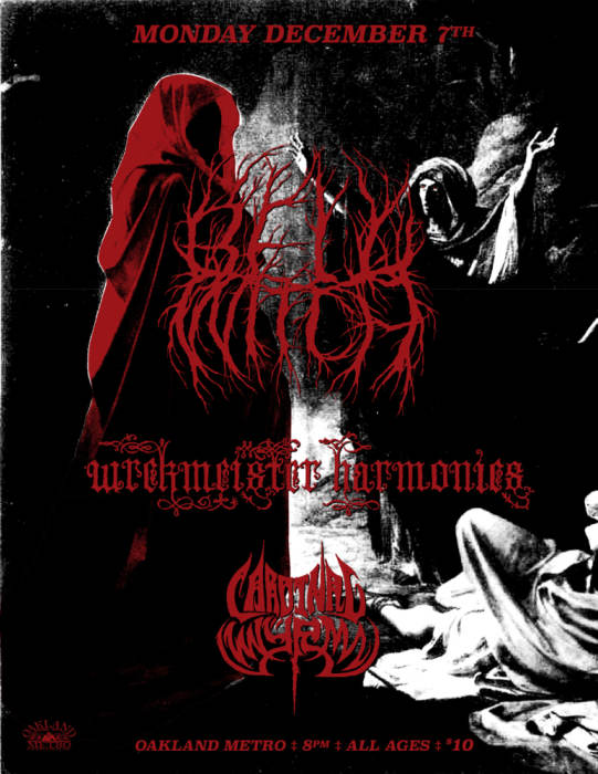Bell Witch, Wrekmeister Harmonies, Cardinal Wyrm