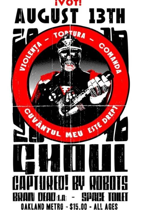 Ghoul, Captured! By Robots, Brain Dead (L.A.), and Space Toilet