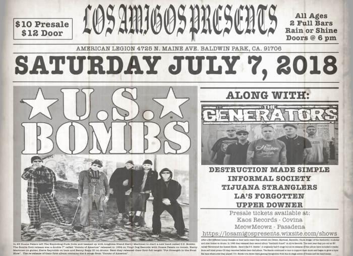 U.S. BOMBS