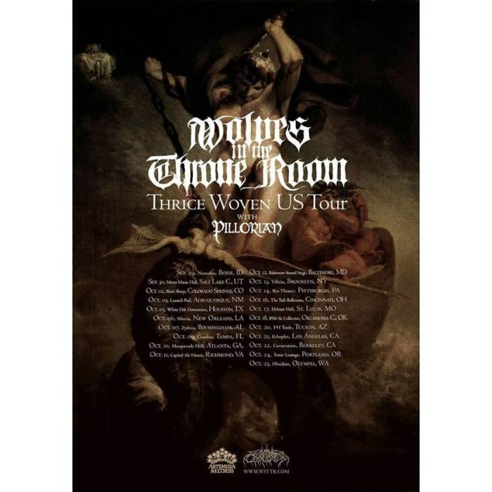 *Sold Out* - Wolves In The Throneroom - Day 2
