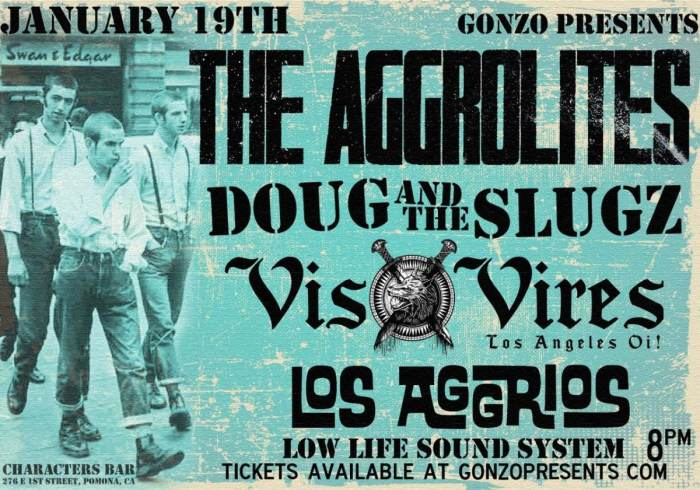 The AGGROLITES, Doug and the Slugz